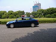 Japanese Imperial Guard car