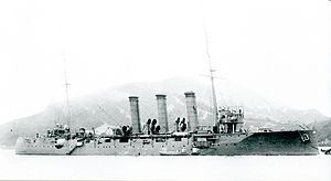 Japanese cruiser Niitaka in 1918.jpg