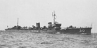 <i>Mutsuki</i>-class destroyer ship class