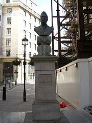 Jawaharlal Nehru statue in Aldwych 1