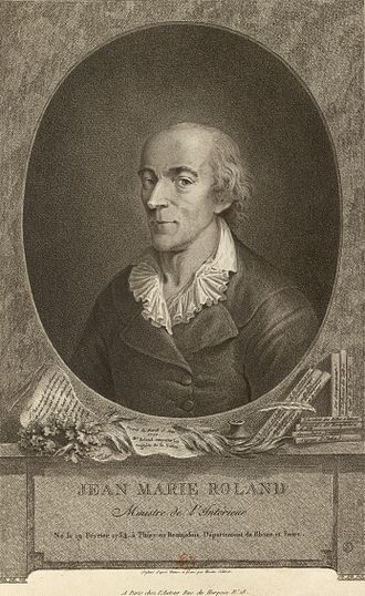 Jean-Marie Roland de la Platière - from Édouard Charton, Le Magasin Pittoresque, 1777 à 1786