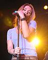 Jessie James performing in Hangar 1, Ramstein Air Base 08.jpg