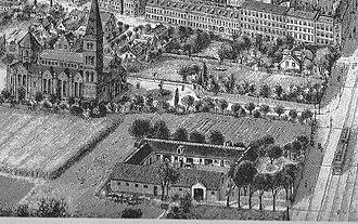 Jesus Church, Copenhagen - The church in 1909