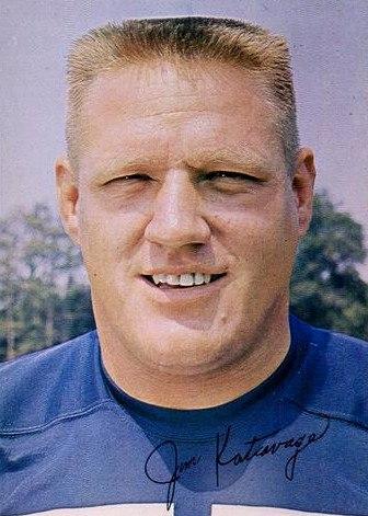 Jim Katcavage - New York Giants - 1965