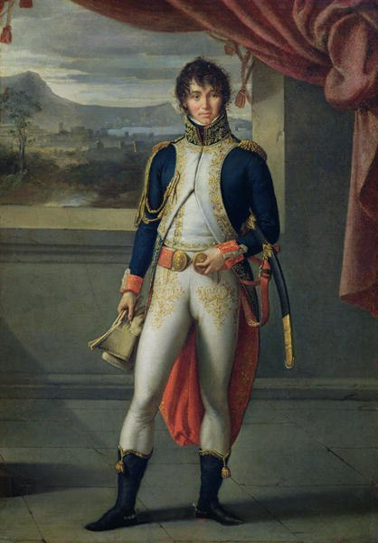 Joachim Murat (by Jean Baptiste Joseph Wicar)