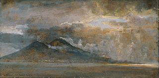 The Bay of Naples with Vesuvius