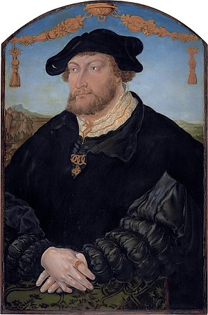 John III of the Palatinate - Johann III of the Palatinate (1488-1538) (Studio of Hans Wertinger, 1526)