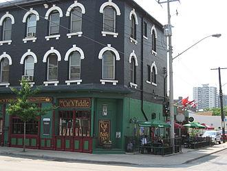 Augusta Street (Hamilton, Ontario) - Augusta Street, landmark