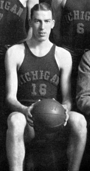 Johnny Gee - Gee, captain of the 1937 Michigan basketball team
