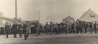 John McCrae - McCrae's funeral
