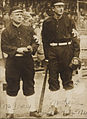 John McGraw and Christy Mathewson, New York Giants, 1911 World Series.jpg