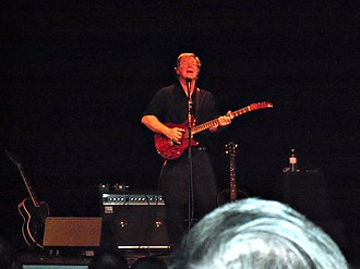 John Sebastian - Sebastian performing at the Katharine Hepburn Theater in Old Saybrook, Connecticut, November 27, 2011