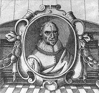 John Taylor (poet) - John Taylor portrait engraved by Thomas Cockson, from the frontispiece of Taylor's 1630 poetry anthology.