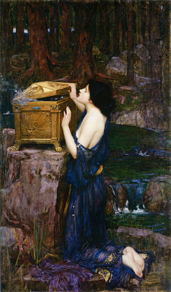 File:John William Waterhouse - Pandora, 1896.jpg