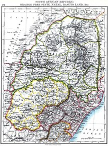 Swaziland-Swazi settlers (18th and 19th centuries)-Johnston, W. and A.K. - South African Republic. Orange Free State, Natal, Basuto Land, Etc.