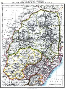 Swaziland Wikipedia - Swaziland map