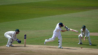 Jonny Bairstow - Bairstow batting against Australia in the 1st Test of the 2013 Ashes series at Trent Bridge
