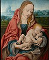 Joos van Cleve - Madonna and Sleeping Child in a Landscape.jpg