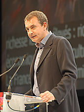 José Luis Rodríguez Zapatero - Royal & Zapatero's meeting in Toulouse for the 2007 French presidential election 0205 2007-04-19.jpg