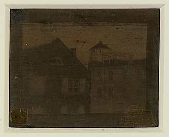 Central High School (Philadelphia) - An 1839 daguerreotype of Central High School is the earliest known photograph of the first school and the oldest known photograph taken in the U.S.