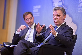 Chatham House - Juan Manuel Santos, President, Republic of Colombia - Chatham House Prize 2017, 9 November 2017