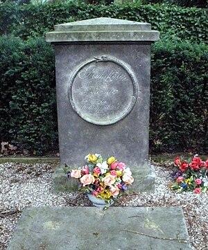 Juliane Louise of East Frisia -  Grave of Princess Juliana Louise of East Frisia at the Ohlsdorf Cemetery