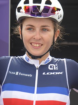 Juliette Labous - 2018 UEC European Road Cycling Championships (Women's road race).jpg