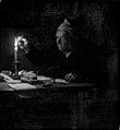 Julius Exner - En gammel mand ifærd med at forsegle et brev - KMS1216 - Statens Museum for Kunst.jpg