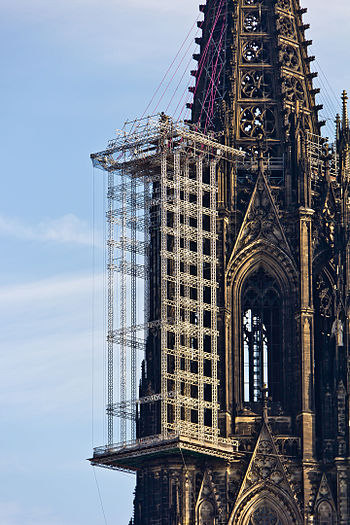 Cologne Cathedral: Construction of a new suspe...