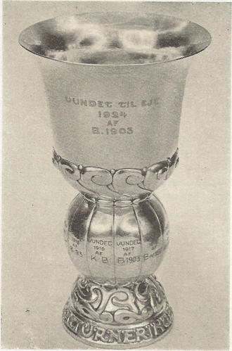 KBUs Pokalturnering - Image: KB Us Pokalturnering 1st trophy won by Boldklubben 1903