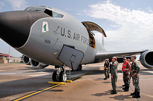 McGhee Tyson Air National Guard Base - KC-135R Arrives at McGhee Tyson Air National Guard Base