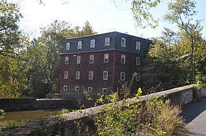 Kingston Mill Historic District - Image: KINGSTON MILL HISTORIC DISTRICT, PRINCETON BOROUGH, MERCER COUNTY, NJ