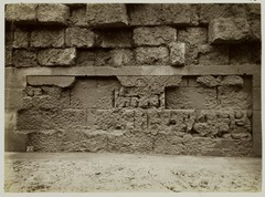 KITLV 28063 - Kassian Céphas - Recut relief of the hidden base of Borobudur - 1890-1891.tif