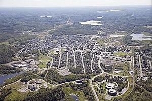 Kirkland Lake - Aerial view of Kirkland Lake