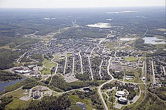 Kirkland Lake - Aerial view of Kirkland Lake