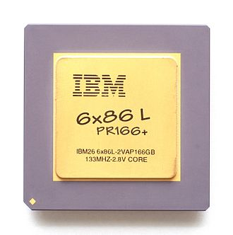 Cyrix 6x86 - Cyrix 6x86L 133MHz sold under IBM label.