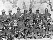 K Troop 9th Cavalry detail