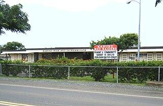 Kahuku High & Intermediate School Public, co-educational school in Kahuku, Hawaii, United States