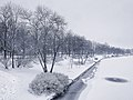 Kaisaniemi park in winter - Marit Henriksson 1.jpg