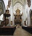 Kaisheim - Ehemalige Klosterkirche, Chor mit Kanzel.JPG