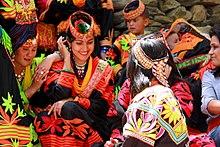 Kalash women traditional clothing