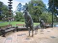 Kangaroo statues in Perth, WA (1).jpg