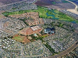 """Kapolei, Hawaii - Aerial photo of """"Villages of Kapolei"""" neighborhood"""