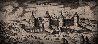 Battle of Koporye - Koporye Fortress