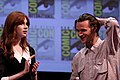 Karen Gillan & Matt Smith (5983857321).jpg