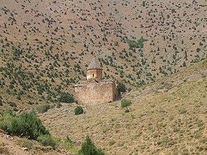 Karmravank (Vaspurakan) - Image: Karmravank Armenian monastery (Lake Van) closeup