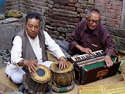 tabla and harmonium together