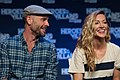 Katie Cassidy and Paul Blackthorne HVFF 2016 01.jpg