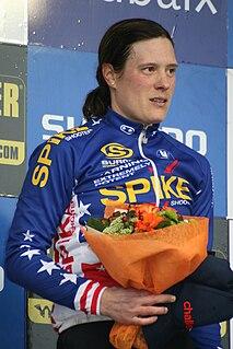 Katie Compton American bicycle racer