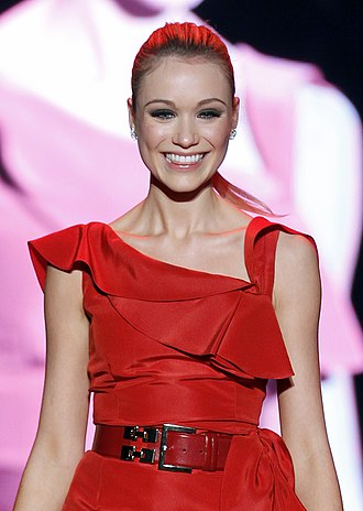 Katrina Bowden - Bowden at The Heart Truth's 2011 Red Dress Collection.